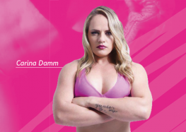 Lutadora brasileira de MMA palestra para mulheres em Guarapari