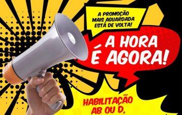 Promoção para obter CNH em Guarapari