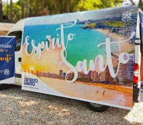 Caravana turística do ES passa pelo RJ e chega a Minas Gerais