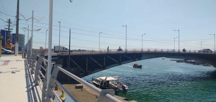 Prefeitura afirma que obras na ponte de Guarapari somente após as 22h