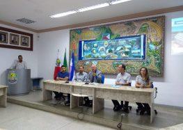 """""""Nossa perspectiva de retorno é janeiro de 2020"""", disse coordenador da Samarco na reunião pública em Guarapari"""
