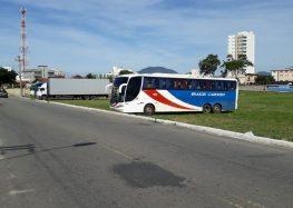 Ônibus de turismo em Guarapari devem dar destino adequado ao esgoto do reservatório