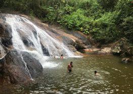 Conheça a beleza das cachoeiras de Guarapari e Alfredo Chaves