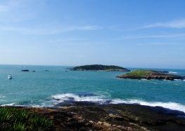 Guarapari: Arquipélago das Três Ilhas não permite pesca, camping e churrasco