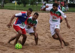 Anchieta inicia hoje (10) o Campeonato Municipal de Beach Soccer
