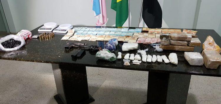 Drogas que seriam fornecidas para vários locais de Guarapari são apreendidas em operação da Polícia Civil