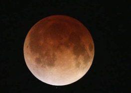 Eclipse total da Lua poderá ser visto na madrugada de hoje (20) para amanhã (21) no Espírito Santo