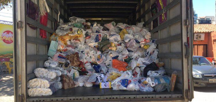 Show arrecada mais de 4 toneladas de alimentos para instituições de Guarapari