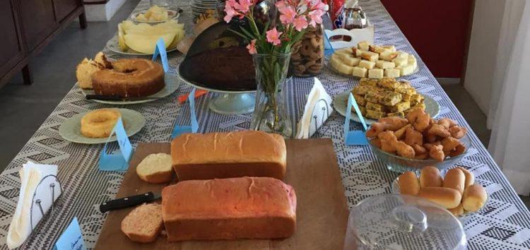 Empreendedores abrem a casa para servir café colonial em Alfredo Chaves