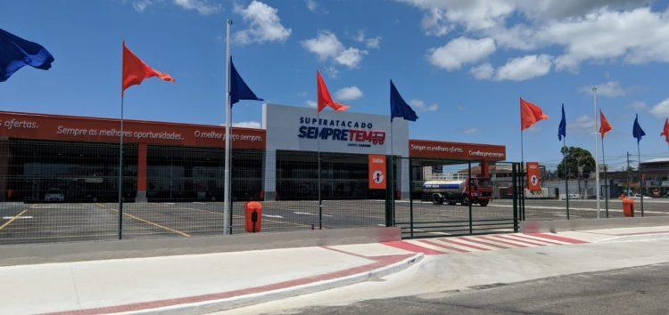 Rede Carone inaugura quinta-feira (10) o SuperatacadoSempreTem em Guarapari