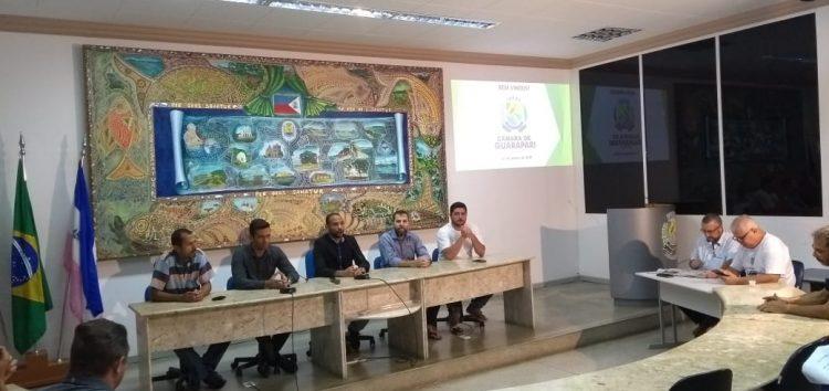 Prefeito não comparece nem justifica ausência na reunião com presidente da Câmara de Guarapari