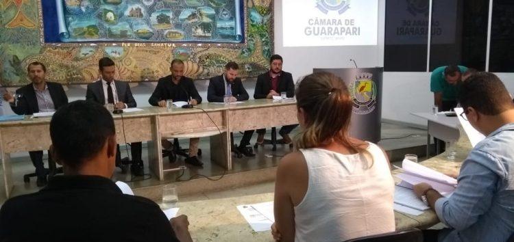 Orçamento 2019: Peça aprovada após sessão longa com discussão e ofensas em Guarapari