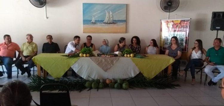 Programa Compra Direta de Alimentos é lançado nesta manhã (19) em Guarapari