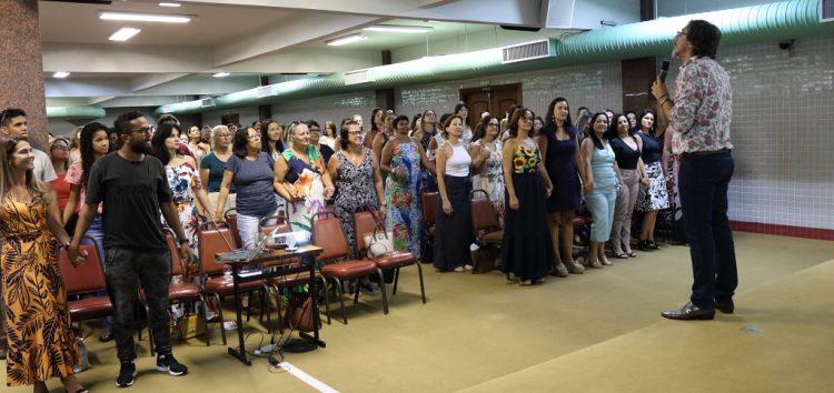 Palestra reúne gestores educacionais para início do ano letivo em Guarapari