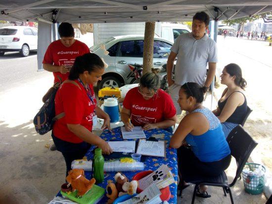 Ação em Guarapari oferece testes de saúde e feira de adoção de cães e gatos