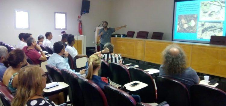 Reunião em Guarapari discute normas de utilização para o Morro da Pescaria