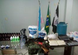Polícia Civil de Guarapari desmonta laboratório de cocaína em Buenos Aires