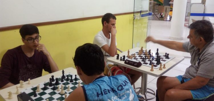 Torneio de xadrez promete movimentar o sábado (02) de Carnaval em Guarapari