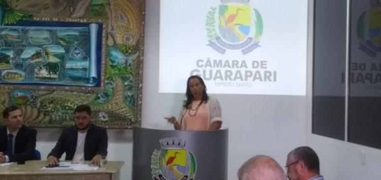 Câmara aceita denúncia e vereadora é afastada por até 180 dias em Guarapari