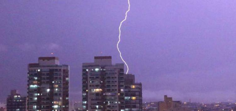 Chuvas intensas em Guarapari e quase todo o ES nessa sexta-feira (08)