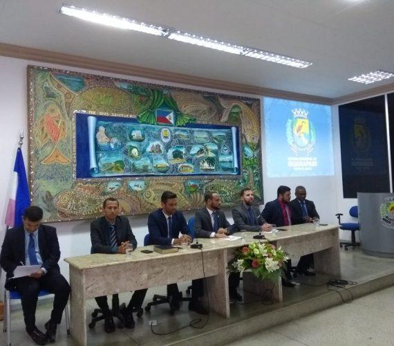 Abertura dos trabalhos na Câmara teve música, cobranças e presença do vice-prefeito de Guarapari
