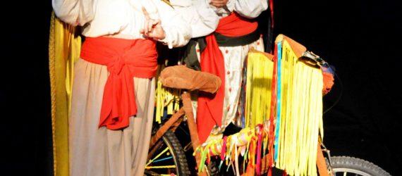Grupo comemora o mês do teatro em Anchieta