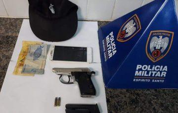Homens são detidos após tentativas de assalto em Guarapari