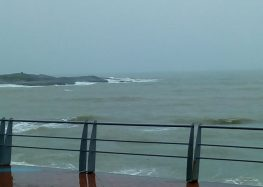 Previsão de ventos até 89 km/h para o litoral do ES
