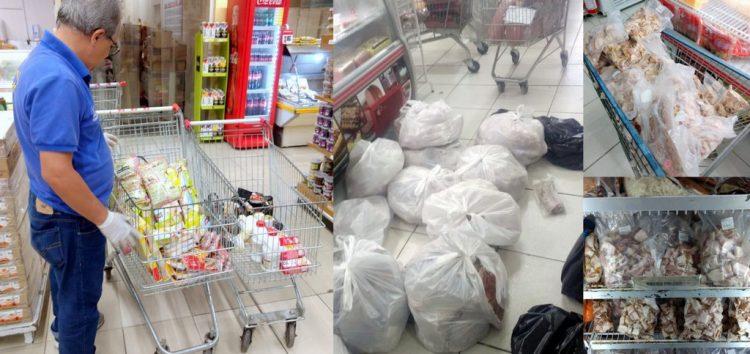 Procon recolhe mais de 300kg de mercadoria imprópria para consumo de Guarapari