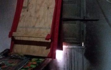 Vandalismo: Janela quebrada e fogo no Radium Hotel em Guarapari