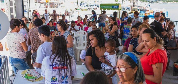 Ação promove mais de 400 atendimentos às mulheres em Guarapari