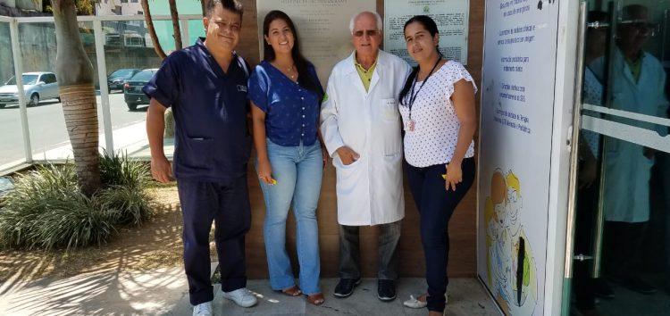 Presidente da Comissão Estadual de Saúde valida serviços do HFA em Guarapari