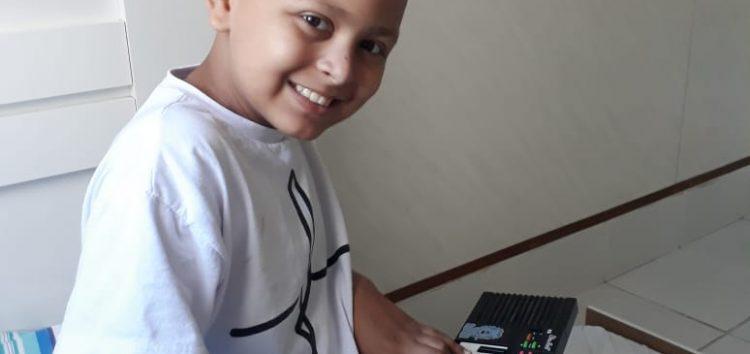 Evento é realizado em prol de criança com câncer em Guarapari