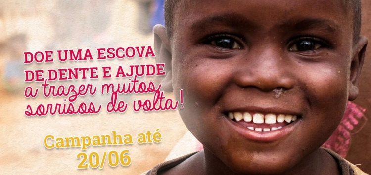 Guarapari participa de projeto arrecadando escovas de dente para crianças carentes
