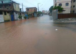 De acordo com Defesa Civil Municipal, chuva em Guarapari é atípica e mais volumosa do estado