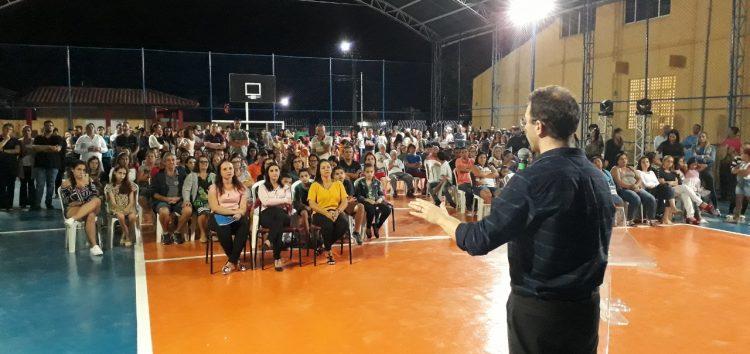 Escola reformada em Anchieta é entregue a comunidade de Jabaquara