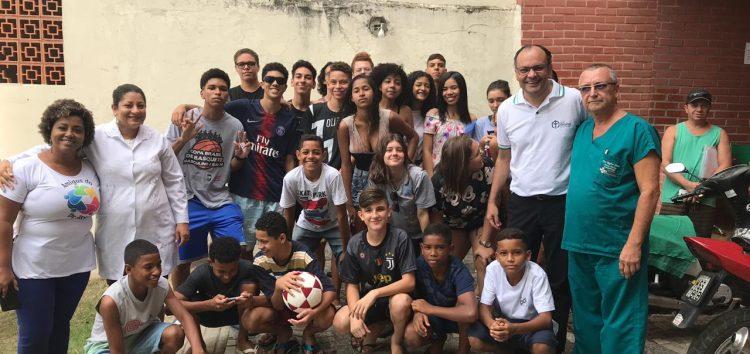 Alunos do município recebem atendimento médico gratuito para representar Guarapari em competição