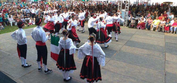 Organizadores estimam que mais de 15 mil pessoas passaram pela Festa da Imigração Italiana em Guarapari