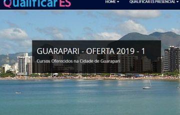 Inscrições abertas! Programa de qualificação profissional oferta vagas em Guarapari