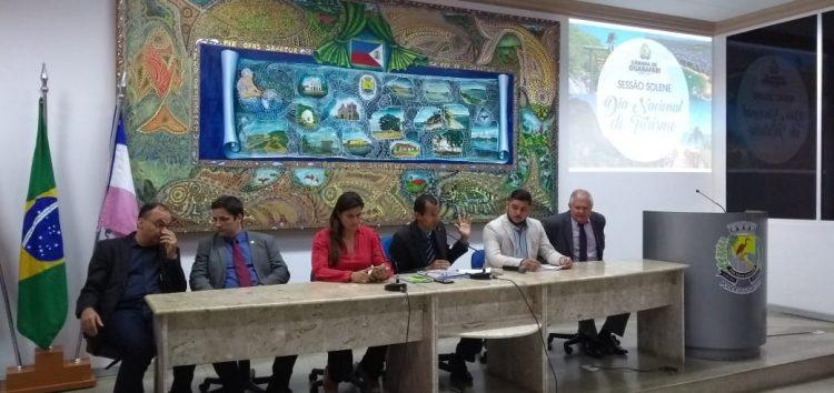 Câmara de Guarapari comemora Dia do Turismo com sessão solene
