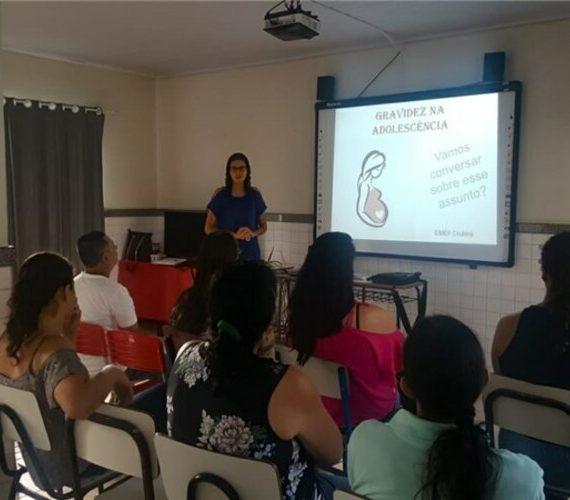 Iniciativa promove medidas preventivas para gravidez na adolescência em Alfredo Chaves