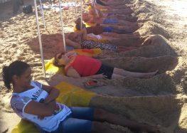 Medição das areias monazíticas já está acontecendo em Guarapari