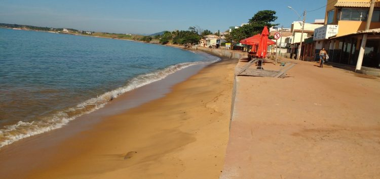 Prefeitura de Guarapari é questionada sobre início das obras na orla de Meaípe
