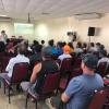 Feirantes de Guarapari recebem orientações para uso do espaço público