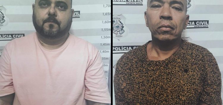 Presos dois suspeitos de roubarem R$ 600 mil em banco de Guarapari