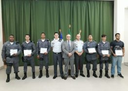 Solenidade Militar marca comemoração pelos 18 anos do Batalhão de Guarapari