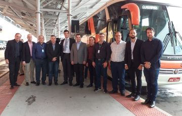 Ônibus que passa pelo Santuário de Anchieta já foi inaugurado