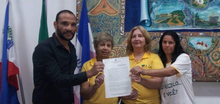 Câmara assina parceria para coleta de materiais recicláveis na Casa de Leis em Guarapari