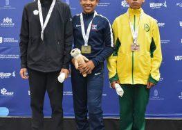 Única representante capixaba, atleta de Guarapari conquista 3º lugar no mundial de Luta Olímpica na Hungria