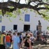 A caminho de Anchieta, peregrinos serão recebidos com programação especial em Guarapari